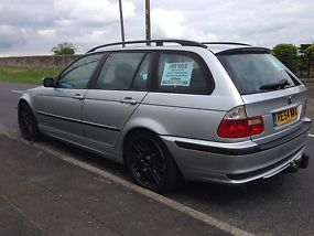 2004 BMW 320D ES TOURING SILVER image 2