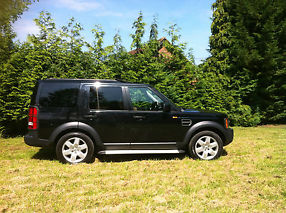 Land Rover Discovery 3 HSE Auto 2007 Black 45k L@@k Lady Owner