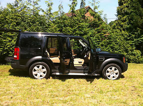 Land Rover Discovery 3 HSE Auto 2007 Black 45k L@@k Lady Owner image 4