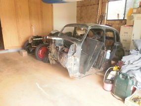 AUSTIN A40 1952 $10,000 IN RECEIPTS,RUST FREE SEDAN HOTROD RATROD image 8