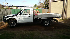 holden rodeo 4x4 2000 model 2.8 turbo diesel cab/chassis