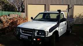 holden rodeo 4x4 2000 model 2.8 turbo diesel cab/chassis image 2