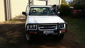holden rodeo 4x4 2000 model 2.8 turbo diesel cab/chassis image 3