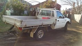 holden rodeo 4x4 2000 model 2.8 turbo diesel cab/chassis image 4