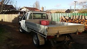 holden rodeo 4x4 2000 model 2.8 turbo diesel cab/chassis image 5