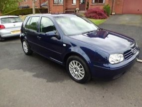 2003 Volkswagen Golf 1.6 SE Auto Only 4,000 Miles Damaged Repairable