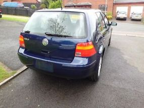 2003 Volkswagen Golf 1.6 SE Auto Only 4,000 Miles Damaged Repairable image 3