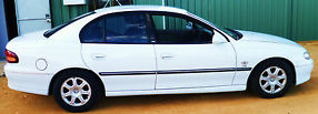 FOR SALE Holden Berlina VT 1997 V8 5.0L White 4 Door Sedan V.G.C