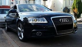 Audi A6 2.0tdi S line 170 Metallic Black Manual 2010