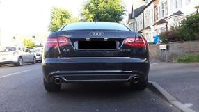 Audi A6 2.0tdi S line 170 Metallic Black Manual 2010 image 2