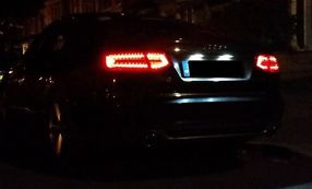 Audi A6 2.0tdi S line 170 Metallic Black Manual 2010 image 3