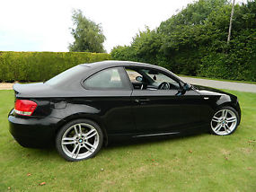 2008 BMW 120D M SPORT BLACK LEATHER SEATS 18