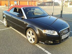 AUDI A4 S LINE FSI AUTO CONVERTIBLE..2007 57 PLATE..84K WITH FULL HISTORY