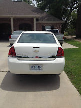 2008 Chevrolet Impala 4 Door White image 3