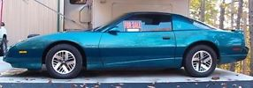 1992 Pontiac Firebird Base Coupe 2-Door 3.1L- Teal
