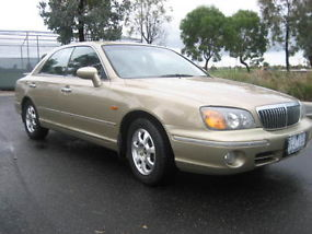 2001 Hyundai Grandeur 4D Sedan 5 SP Sequential Auto (3L - Multi Point...