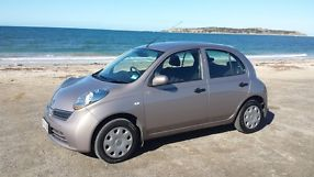 NISSAN MICRA 2009 automatic, air conditioning, cruise control, low kilometers