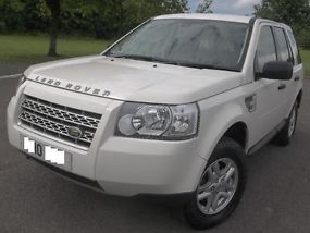 2010 10 LAND ROVER FREELANDER 2 2.2 TD4 S WHITE DIESEL MANUAL 4X4 EX POLICE