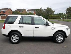 2010 10 LAND ROVER FREELANDER 2 2.2 TD4 S WHITE DIESEL MANUAL 4X4 EX POLICE image 5