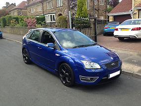 2006 (06) FORD FOCUS 2.5 TURBO ST-3 XENONS, HEATED LEATHER, 5 DOOR  image 1