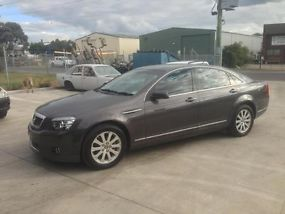 2007 Holden Statesman Caprice luxury leather cruiser VE WM V6 LOW KM