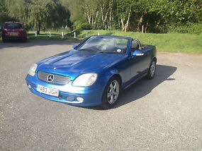 Mercedes SLK320, Auto, Convertible. 01/Y, Bargain car needs TLC swap px bike etc image 2