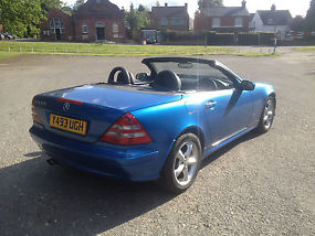 Mercedes SLK320, Auto, Convertible. 01/Y, Bargain car needs TLC swap px bike etc image 4
