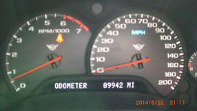 2004 CORVETTE COUPE RARE TORCH RED ON RED, 89942 MILES image 8