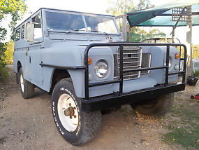 Land Rover 109 series 3 ex forces holden 202 powered