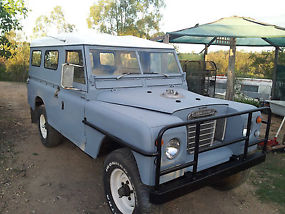 Land Rover 109 series 3 ex forces holden 202 powered image 3