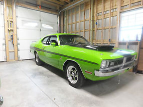 1971 Dodge dart - demon duster a body mopar fast plymouth rare fj6 Awesome fast