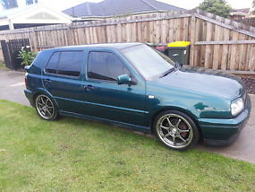 98 VW golf limited edition ABT sports great first car RWC heaps of extras