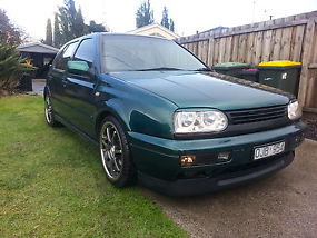 98 VW golf limited edition ABT sports great first car RWC heaps of extras image 1