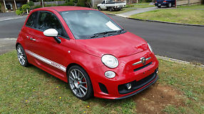 2011  500 fiat 595 695 competizione rare no write off current rwc low kms