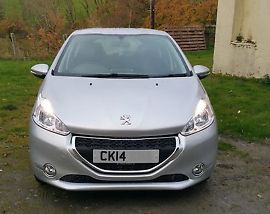2014 Peugeot 208 1 2 Active Petrol Manual With Cruise Control