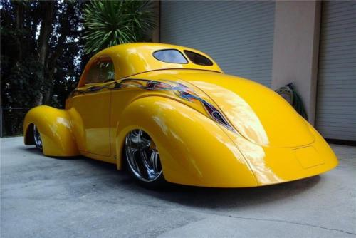 1941 Willys Custom swoopster