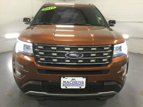 2017  Explorer XLT FWD 77815 Miles Canyon SUV 2.3L 4 Cylinder 6-Speed Automa