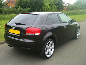 AUDI A3 2.0 TDI SPORT DSG HEATED LEATHER-BOSE-S LINE ALLOYS,BLACK, GOLF VW ... image 4
