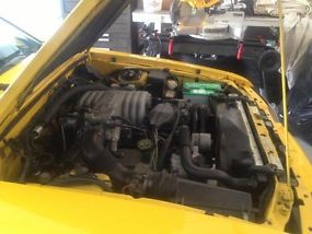 1993 Ford Mustang LX 5.0 Yellow Convertible Limited Edition Only 1503 Made image 5