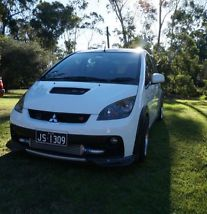 Mitsubishi Colt Ralliart (2006) 5D Hatchback 5 SP Manual Turbo Rcolt Evo Recaros