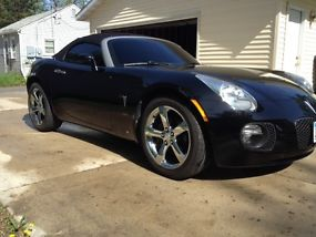 Turbo Pontiac GXP Solstice Convertible Black All Stock with only 14k miles! image 4