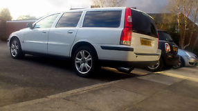 Volvo V70 T5, White, Very good tires, Sport exhaust, Timing belt service done.  image 1