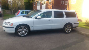 Volvo V70 T5, White, Very good tires, Sport exhaust, Timing belt service done.  image 2
