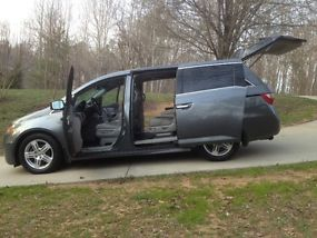 2011 HONDA ODYSSEY TOURING ROOF NAV DVD HEATED LEATHER REAR CAMERA image 8