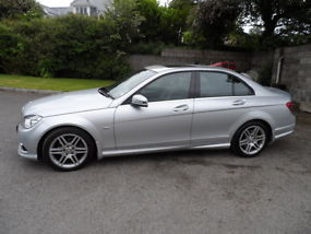 2009 59 plate mercedes benz C class C220 2.2Cdi sport manual ONLY 19850 miles image 2