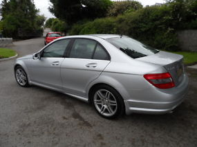 2009 59 plate mercedes benz C class C220 2.2Cdi sport manual ONLY 19850 miles image 3