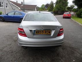 2009 59 plate mercedes benz C class C220 2.2Cdi sport manual ONLY 19850 miles image 4