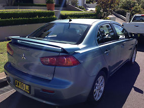Mitsubishi Lancer 2008 MY09 Manual Mivec Blue Sedan Car commodore falcon Camry  image 3