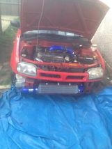 nissan micra turbo, t25, nistune ecu, taxed and mot  image 1