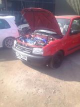 nissan micra turbo, t25, nistune ecu, taxed and mot  image 3